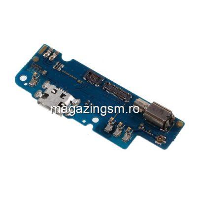 Banda Flex Placa Circuit Conector Incarcare Si Microfon Asus Zenfone 3s Max ZC521TL