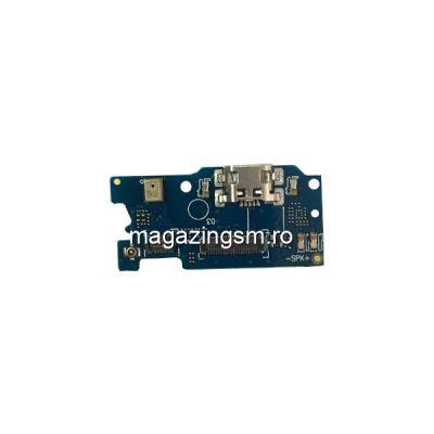 Banda Flex Placa Circuit Conector Incarcare Si Microfon Asus Zenfone 4 Max ZC520KL