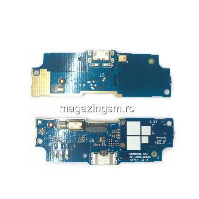 Banda Flex Placa Circuit Conector Incarcare Si Microfon Asus Zenfone Go ZB552KL