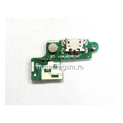 Banda Flex Placa Circuit Conector Incarcare Si Microfon Htc Desire 526 Originala