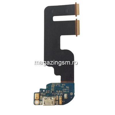 Banda Flex Placa Circuit Conector Incarcare Si Microfon HTC One Mini 2 M8