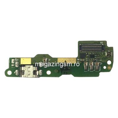 Banda Flex Placa Circuit Conector Incarcare Si Microfon HTC One X10