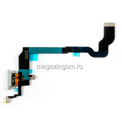 Banda Flex Cu Conector Incarcare Si Microfon iPhone X