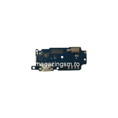 Banda Flex Placa Circuit Conector Incarcare Si Microfon Meizu M5S