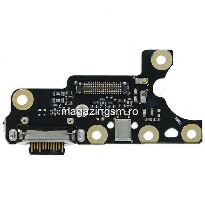 Banda Flex Placa Circuit Conector Incarcare Si Microfon Nokia 7 Plus