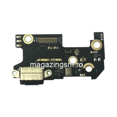 Banda Flex Placa Circuit Conector Incarcare Si Microfon Xiaomi Mi 8
