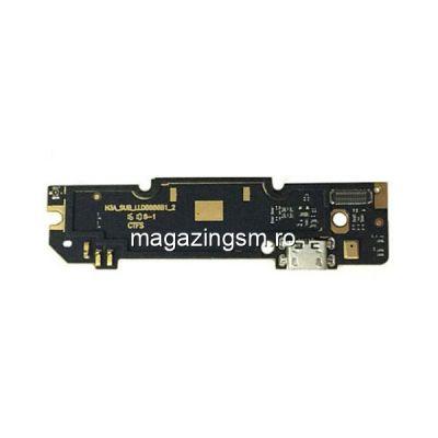 Banda Flex Placa Circuit Conector Incarcare Si Microfon Xiaomi Redmi Note 3 Pro