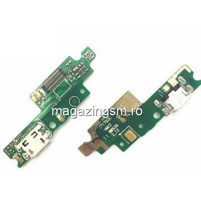 Banda Flex Placa Circuit Conector Incarcare Si Microfon Xiaomi Redmi 4