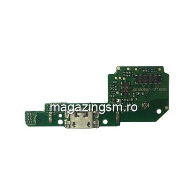 Banda Flex Placa Circuit Conector Incarcare Si Microfon Xiaomi Redmi 6A
