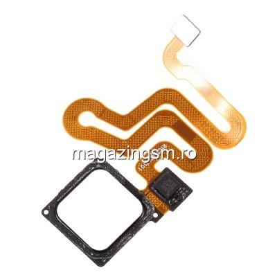 Banda Flex Senzor Amprenta Huawei P9 / P9 Lite Originala Alb