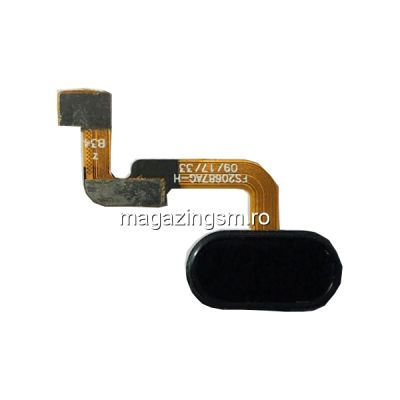 Banda Flex Senzor Amprenta Meizu M6 Note Neagra