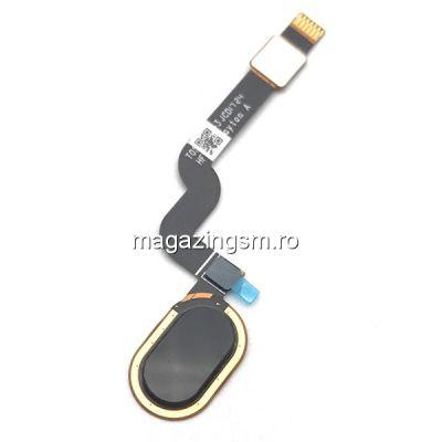 Banda Flex Senzor Amprenta Motorola Moto X4 Neagra