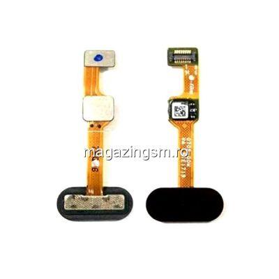 Banda Flex Senzor Amprenta OnePlus 5 Neagra