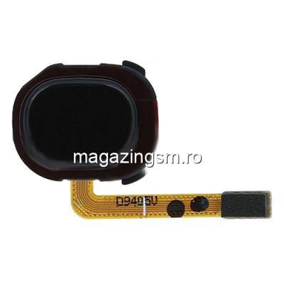 Banda Flex Senzor Amprenta Samsung Galaxy A20e A202 Neagra