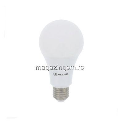 Bec WiFi E27 10W lumina alba/calda/RGB reglabil