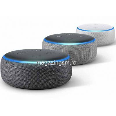 Boxa Amazon Echo Dot 3, Alexa, Negru