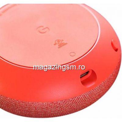 Boxa inteligenta Google Nest Mini, 2nd Gen, Coral