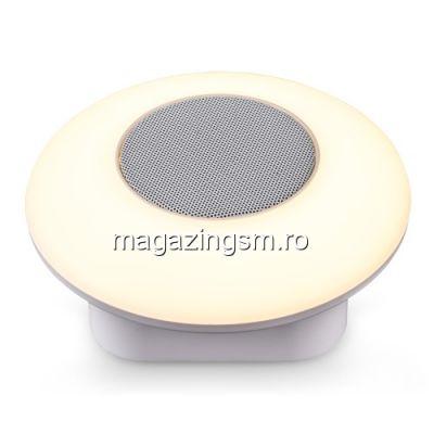 Boxa Portabila Cu Conexiune Wireless Si LED iPhone Samsung Multicolora