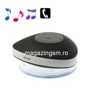Boxa Portabila Cu Conexiune Wireless Si Microfon iPhone Samsung Huawei Nokia Neagra