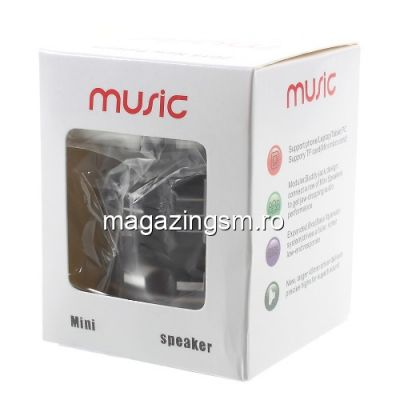 Boxa Portabila Wireless Bluetooth Samsung iPhone Huawei LG Asus Mini Neagra