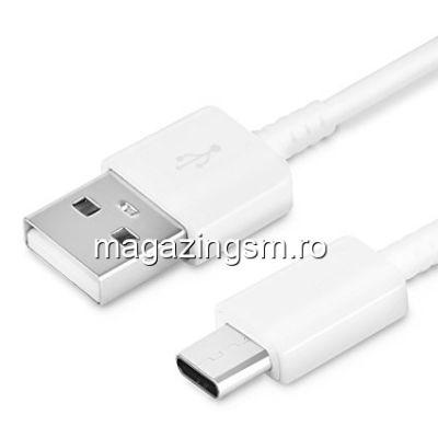 Cablu Date Samsung Galaxy A50 Original Type C Alb