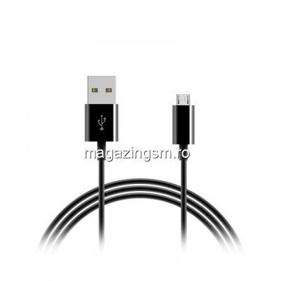 Cablu Date Si Incarcare Micro USB Samsung Huawei LG Asus Allview Negru