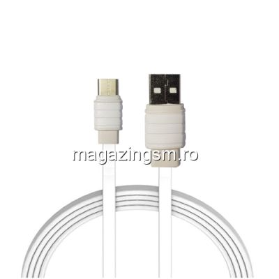 Cablu Date Si Incarcare USB Type C Sony Xperia R1 Alb