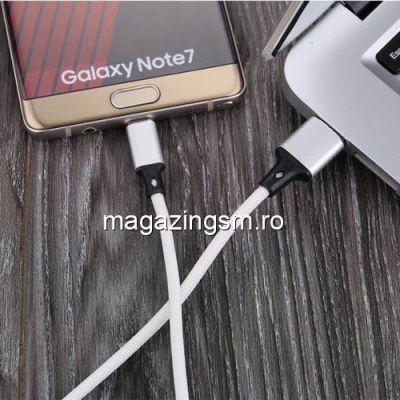 Cablu Date Si Incarcare Type C Huawei P10 Argintiu Silver