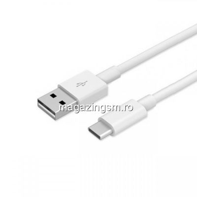 Cablu Date Si Incarcare USB Tip C Samsung EP-DW700CWE Alb