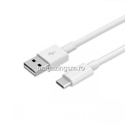 Cablu Date Si Incarcare USB Tip C BlackBerry Keyone DTEK70 Alb