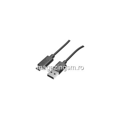 Cablu Date Si Incarcare USB Tip C LG V40 ThinQ Negru