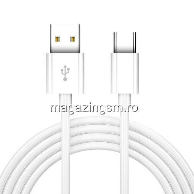 Cablu Date Si Incarcare USB Type C Asus Zenfone Max Alb