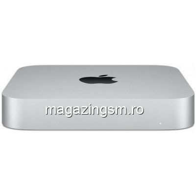 Calculator Sistem PC Apple Mac Mini 2020, Apple M1 (12M Cache, up to 3.20 GHz), 8GB, 512GB SSD, Argintiu)