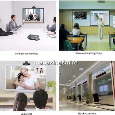 Camera WEB Videoconferinta 480P Neagra