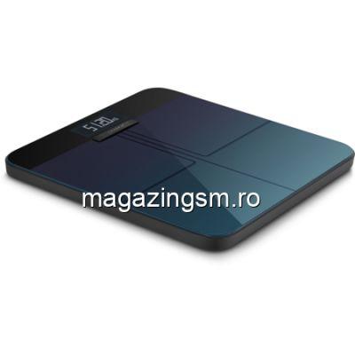 Cantar corporal Amazfit Smart Scale Conexiune Wi-Fi Bluetooth Afisaj LCD Negru