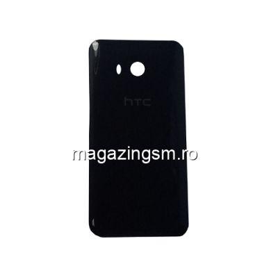Capac Baterie Spate Cu Adeziv Sticker HTC U11 Negru