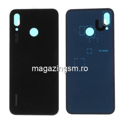 Capac Baterie Spate Cu Adeziv Sticker Huawei P20 Lite/Nova 3e Negru