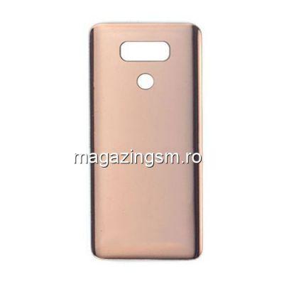 Capac Baterie Spate Cu Adeziv Sticker LG G6 H870 Auriu