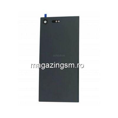Capac Baterie Spate Sony Xperia XZ Premium Cu Adeziv Sticker Negru