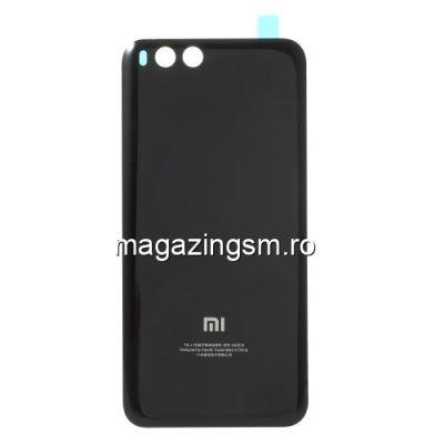 Capac Baterie Spate Cu Adeziv Sticker Xiaomi Mi 6 Negru