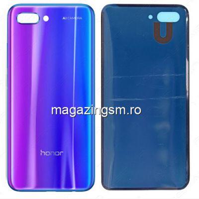 Capac Baterie Spate Huawei Honor 10 Cu Adeziv Sticker Albastru