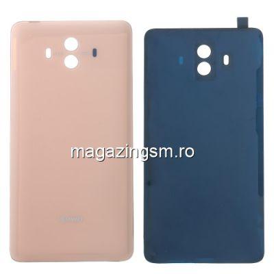 Capac Baterie Spate Huawei Mate 10 Cu Adeziv Sticker Roz