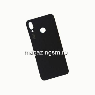 Capac Baterie Spate Huawei P20 Lite Cu Adeziv Sticker Negru