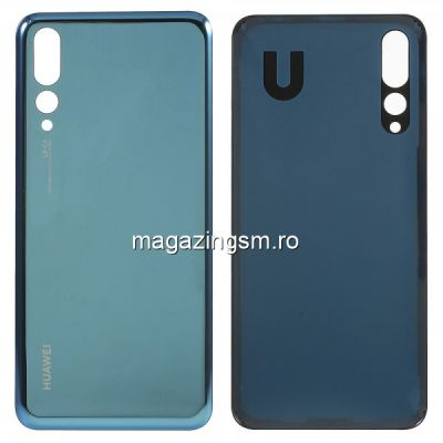 Capac Baterie Spate Huawei P20 Pro Albastru