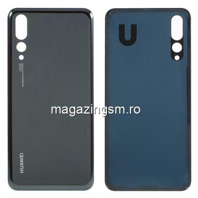 Capac Baterie Spate Huawei P20 Pro Original Negru