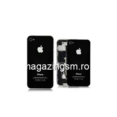 Capac Baterie Spate iPhone 4s Negru