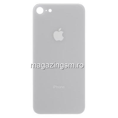 Capac Baterie Spate iPhone 8 Alb
