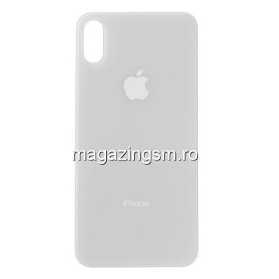 Capac Baterie Spate iPhone X / iPhone 10 Alb
