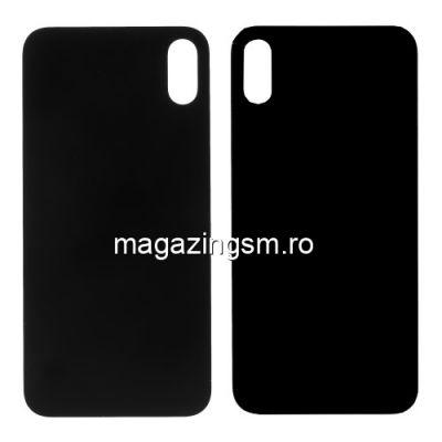 Capac Baterie Spate iPhone X / iPhone 10 Negru