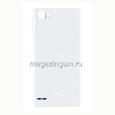 Capac Baterie Spate LG Q6 Alb